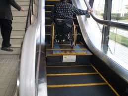 japan accessible tourism center transport escalator